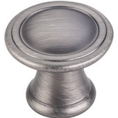Chesapeake Collection 1-3/16'' Diameter Round Cabinet Knob in Brushed Pewter