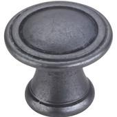 Chesapeake Collection 1-3/16'' Diameter Round Cabinet Knob in Gun Metal