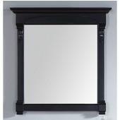 Brookfield 29-1/2'' Mirror, Antique Black Finish, 29-1/2''W x 3-3/4''D x 41-1/2''H