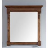 Brookfield 29-1/2'' Mirror, Country Oak Finish, 29-1/2''W x 3-3/4''D x 41-1/2''H