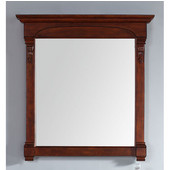 Brookfield 29-1/2'' Mirror, Warm Cherry Finish, 29-1/2''W x 3-3/4''D x 41-1/2''H