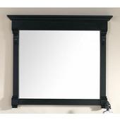 Brookfield 47-1/4'' Mirror, Antique Black Finish, 47-1/4''W x 3-3/4''D x 41-1/2''H