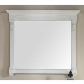 Brookfield 47-1/4'' Mirror, Cottage White Finish, 47-1/4''W x 3-3/4''D x 41-1/2''H