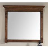 Brookfield 47-1/4'' Mirror, Country Oak Finish, 47-1/4''W x 3-3/4''D x 41-1/2''H