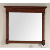 Brookfield 47-1/4'' Mirror, Warm Cherry Finish, 47-1/4''W x 3-3/4''D x 41-1/2''H
