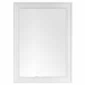 Bristol 29'' Rectangular Mirror In Bright White, 29''W x 1-1/4''D x 40''H