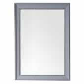Bristol 29'' Rectangular Mirror In Silver Gray, 29''W x 1-1/4''D x 40''H