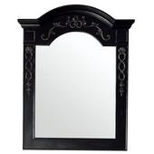 European Traditions 32'' Mirror, Empire Black