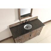 Providence 60'' Single Vanity Cabinet, Driftwood, No Countertop