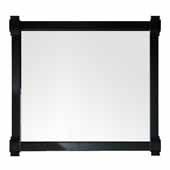 Brittany 43'' Mirror In Black Onyx, 43''W x 1-1/2''D x 39-1/4''H