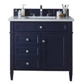Brittany 36'' Single Bathroom Vanity Cabinet Only in Victory Blue Finish