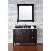 Brittany 48'' Single Cabinet, Burnished Mahogany, No Countertop