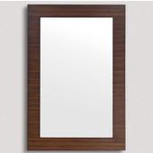 , Metropolitan 30'' Mirror, American Walnut
