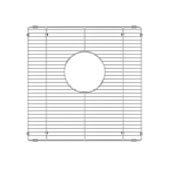JULIEN 200926 Stainless Steel Sink Grid for JULIEN Sink Bowl Measuring 15''W x 15''D