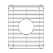 JULIEN 200936 Stainless Steel Sink Grid for JULIEN Fira Bar Sink Bowl Measuring 13-1/4''W x 15-3/4''D