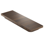 19'' Walnut Cutting Board, Compatible For Use with 18'' Wide Sinks