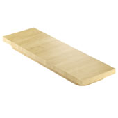 18'' Maple Cutting Board, Compatible For Use with 17'' Wide Sinks