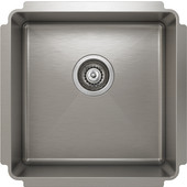 ProChef - ProInox Undermount Single Bowl Kitchen Sink,  18''W x 18''D x 8''H