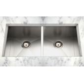 Stainless Steel Kitchen Sink 29''W x 18''D x 9-1/4'' H, 18 Gauge