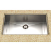 Stainless Steel Kitchen Sink 32''W x 18''D x 9'' H, 18 Gauge