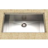 Stainless Steel Kitchen Sink 32''W x 18''D x 9'' H, 18 Gauge