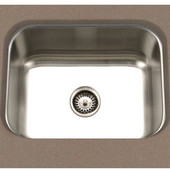 S/Steel Kitchen Sink, 23''W x 17-3/4''D x 9''H