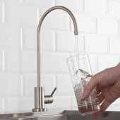 Purita™ Single Handle Kitchen Water Filtration Faucet in Spot Free Stainless Steel Finish, Spout Height: 8-3/8'', Spout Reach: 6''