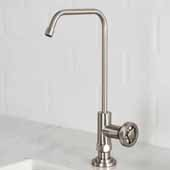 Urbix™ Single Handle Kitchen Water Filter Faucet in Spot Free Stainless Steel Finish, Spout Height: 9-3/8'', Spout Reach: 5-3/8''