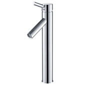 KRAUS Sheven™ Tall Vessel Bathroom Faucet, Chrome Finish