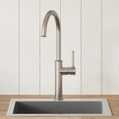 Sellette™ Spot Free Stainless Steel Finish Kitchen Bar Faucet