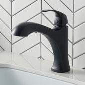 Oren™ Matte Black Finish Dual Function Pull-Out Kitchen Faucet