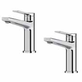 Indy™ Single Handle Bathroom Faucet In Chrome (2 Pack)