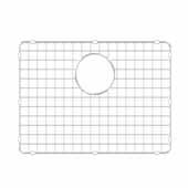 KRAUS Bottom Grid for Turino™ Fireclay Drop-In Undermount Kitchen Sink KFD1-24 In Stainless Steel, 19-5/8'' W x 13-3/4'' D x 1/2'' H