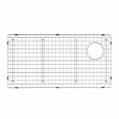 Bellucci™ 25'' Series Stainless Steel Kitchen Sink Bottom Grid with Soft Rubber Bumpers for 30'' Kitchen Sink, 25-1/4''W x 14-1/4''D x 7/8''H
