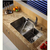 Stainless Steel Bottom Grid in Stainless Steel for Kitchen Sink, 17-5/8'' W x 17-5/8'' D x 1-3/8'' H
