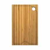 Workstation Kitchen Sink 9'' W Solid Bamboo Cutting Board, 8-3/4''W x 16-3/4''D x 3/4''H