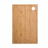 Workstation Kitchen Sink 11'' W Solid Bamboo Cutting Board, 10-3/4''W x 16-3/4''D x 3/4''H