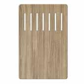 Workstation Kitchen Sink Wood Grain Composite Cutting Board, 16-7/8''W x 11''D x 1/4''H