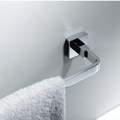 Aura Bathroom Towel Bar in Chrome, 23-5/8'' W x 2-15/16'' D