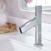 Ino™ Ino™ Basin Single Handle 8'' Bathroom Faucet with Custom Laminar Flow in Chrome Finish