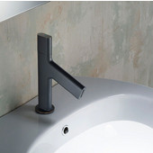Ino™ Basin Single Handle 8'' Bathroom Faucet with Custom Laminar Flow in Oil Rubbed Bronze Finish