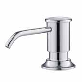 Kitchen Soap Dispenser In Chrome, Spout Reach: 3-5/8'' D, Pump Height: 3''H
