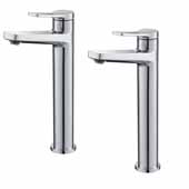 KRAUS Indy™ Single Handle Vessel Bathroom Faucet in Chrome (2-Pack)