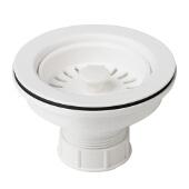 Kitchen Sink Strainer in White