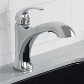 Oren™ Dual Function Pull-Out Kitchen Faucet Chrome Finish