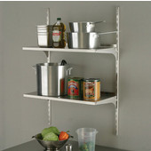 Stainless Steel 14-Gauge Shelf, 32''W x 10''D