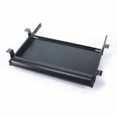 Knape & Vogt Economy Pull-Out Keyboard Trays, Black