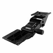 Knape & Vogt 17'' Track Ovation Arm, Keyboard Support, 5-1/2'' Neck Length