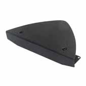 12'' Adjustable Desk Corner Maker, Black