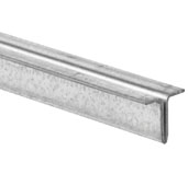Knape & Vogt 144'' Length Upper Dual Track Shoe for Sliding Glass Door, 144'' Length x 5/8'' H